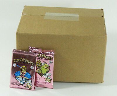 Lot of (100) 1992 Bench Warmer Trading Card Packs (10 Cards per Pack)