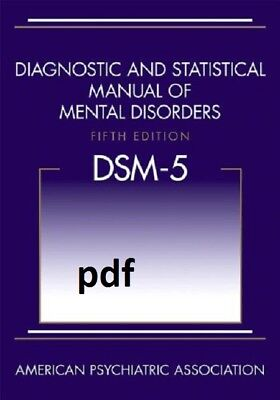 [PDF] Diagnostic and Statistical Manual of Mental Disorders, 5th Ed  DSM-5 !!!