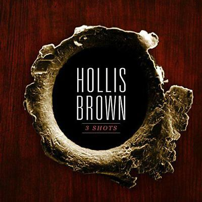 3 Shots, Hollis Brown, New,  Audio CD, FREE & Fast Delivery