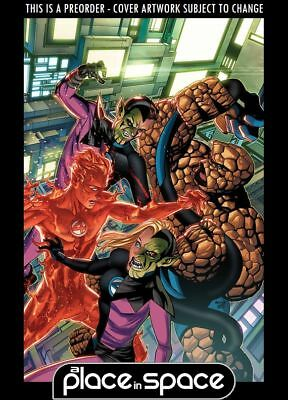(Wk09) Fantastic Four, Vol. 6 #7C - Mckone Skrulls Variant - Preorder 27Th Feb