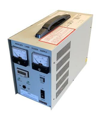 USHIO HB-50110AA OP2 Mercury Lamp Power Supply 100/120 VAC 6.5/5.7 Amps 640 Watt