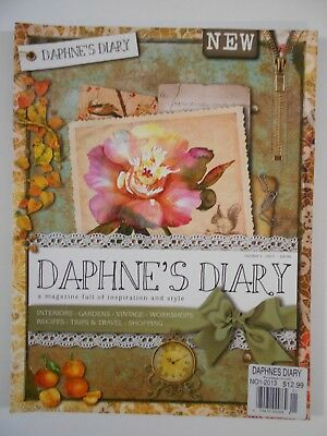 Daphne's Diary Magazine Publication Number 1  2013 PRISTINE! Printed in UK