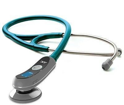 NEW ADC Adscope Model 658 Electronic Digital Stethoscope METALLIC CARIBBEAN