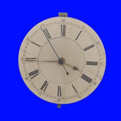 Gowland of Sunderland 19 Jewel Seconds Chronograph Fusee Watch Movement 1885