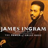 """James Ingram """"The Power of Great Music"""" [Greatest Hits] Brand New Sealed CD."""