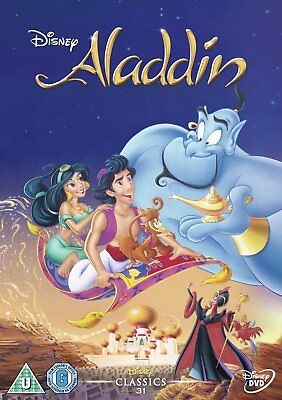 Aladdin (Disney) (UK IMPORT) DVD [REGION 2] NEW