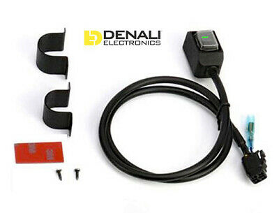 DENALI 2.0 DrySeal ON-OFF Waterproof Illuminated Switch with Handlebar Mount Kit
