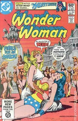 Wonder Woman (1st Series DC) #286 1981 VG/FN 5.0 Stock Image Low Grade