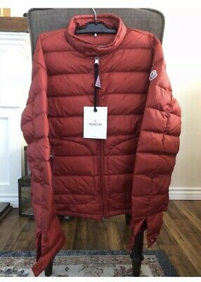 fa8f9090c NEW MONCLER 2018 Acorus Quilted Nylon Puffer Jacket NWT RED Size 3