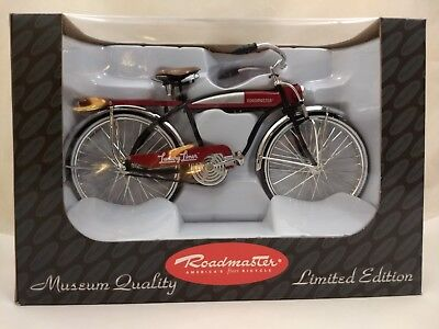 """Roadmaster Luxury Liner Mini 11-3/4"""" Bicycle Deluxe 1:6 Scale Limited Edition"""