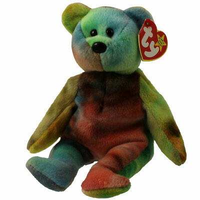 78ded451d97 TY BEANIE BABY - GARCIA the Ty-dyed Bear (4th Gen hang tag) (8.5 ...