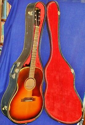 Veteran 1967 GIBSON LG-1 Acoustic Sunburst, VGCondition, Original CBC!