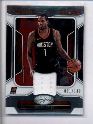 4bf59359052d Trevor Ariza 2018 19 Panini Certified Game Used Worn Jersey  081 149 Aj1907
