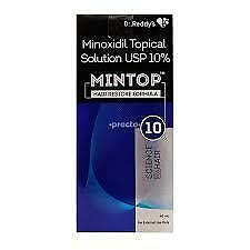 3X Minoxidil Topical Solution USP 10% Mintop 10 Free Shipping World Wide