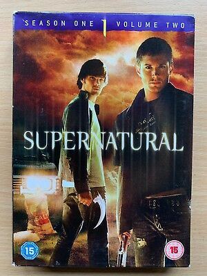 Supernatural Temporada 1 Vol.2 DVD Caja Set Eeuu Horror Serie de TV