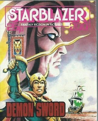 Demon Sword,starblazer Fantasy Fiction Adventure In Pictures,comic,no.200