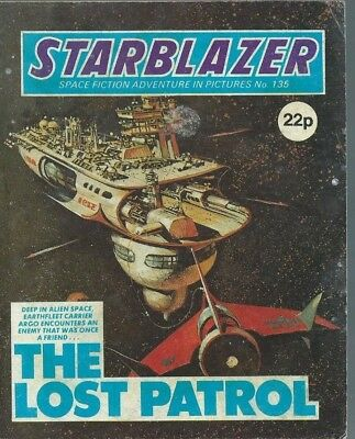 The Lost Patrol,starblazer Space Fiction Adventure In Pictures,comic,no.135