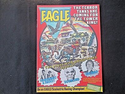 Vintage EAGLE COMIC 19 June 1982 Airfix Star Wars Competition Advert Doomlord