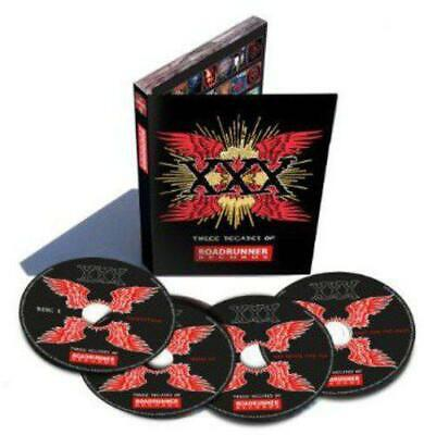 Xxx: Three Decades Of Roadrunner Records, Various, Audio CD, New, FREE & Fast De