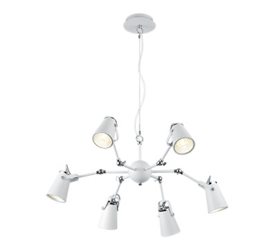 Lampara Led Orientable 6 Luces