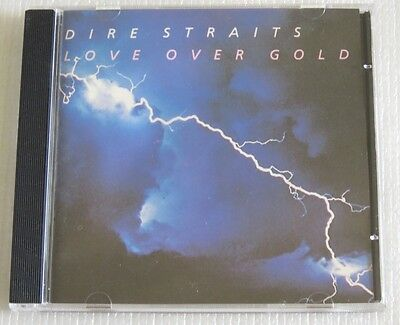 Dire Straits Love Over Gold Cd Made In Brazil Pressing 1989 Without Barcode