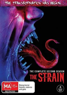 The Strain : Season 2 (DVD, 2017, 4-Disc Set), NEW SEALED AUSTRALIAN