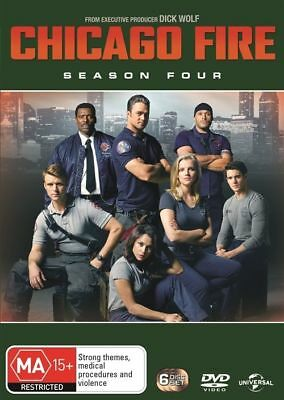 Chicago Fire : Season 4 (DVD, 2017, 6-Disc Set), NEW SEALED AUSTRALIAN
