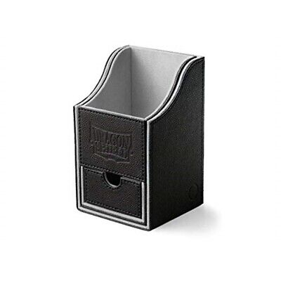 Dragon Shield: Nest Box + Mit Würfelschublade Black/light Grey (staple)