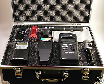Ghost Hunting Kit + Spirit Box + Laser Pen + MEL & K2 EMF Meter + Recorder + NEW