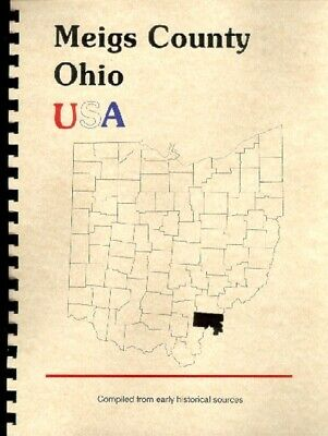 Meigs County OH USA 1928  history Pomeroy Middleport S/E Ohio/Muskingum New