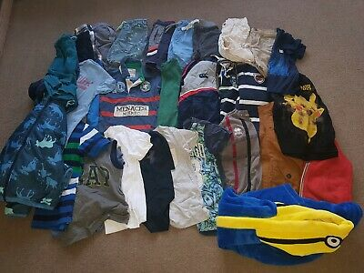 Huge Boys Bundle Age 6-7 Next, Joules, Tommy Hilfiger, Timberland. See all Pics!