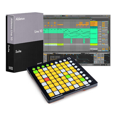 Ableton Live 10 Suite with Launchpad Mini v2 Bundle (NEW)