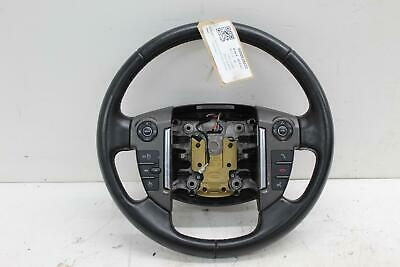 2013 LAND ROVER FREELANDER Multifunctional Black Leather Steering Wheel