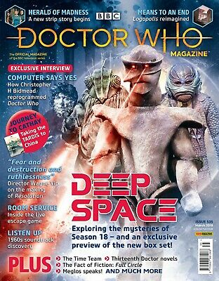 Doctor Who Magazine March 2019 (Issue 535) New...fast Post