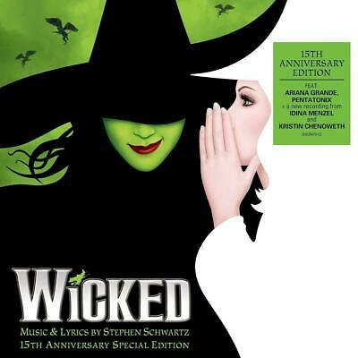 WICKED 15th ANNIVERSARY SPECIAL EDITION 2 CD STEPHEN SCHWARTZ