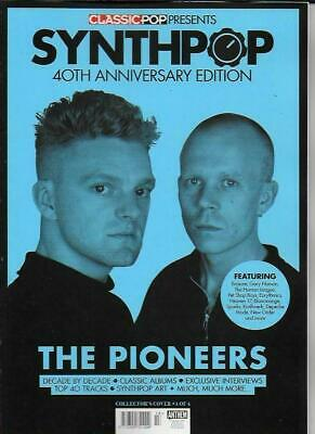 Classic Pop Magazine Presents Synthpop (40Th Anniversary Edition Cover 4...New