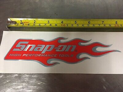GENUINE Vintage SNAP ON TOOLS  Decal Sticker