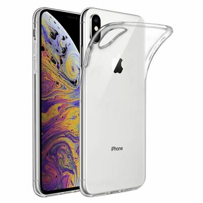 Case For iPhone XR Shock Proof Crystal Clear Soft Silicone Gel Bumper Cover Slim
