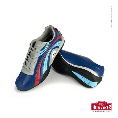 Martini Racing #21 Le Mans 1971 Casual Driving Shoes. Hand signed by Vic Elford