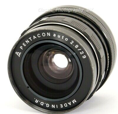 Pentacon auto 2.8/29mm WIDE-Angle M42 Screw & DIGITAL fit Manual Lens + Extras!