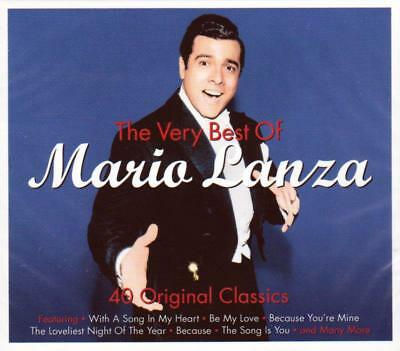 THE VERY BEST OF MARIO LANZA (NEW SEALED 2CD Digipak)
