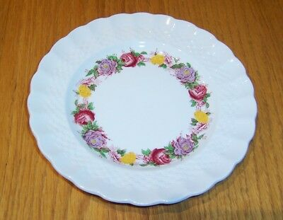 "Rose Briar by Copeland Spode 6 1/2"" Bread & Butter Plate  Chelsea Wicker Shape"