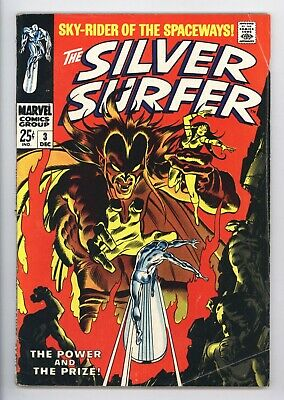 Silver Surfer #3 Vol 1 Nice Lower Mid Grade 1st Appearance of Mephisto