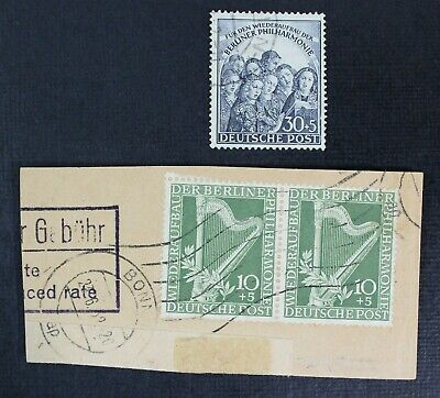 CKStamps: German Democratic Republic Stamps Collection Scott#9NB4 9NB5 Used