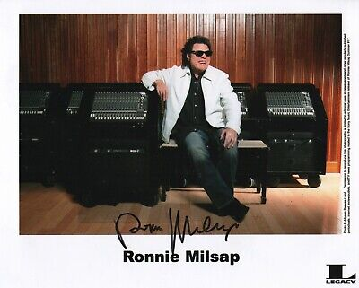 """Ronnie Milsap REAL hand SIGNED 8x10"""" Photo #3 COA Autographed"""