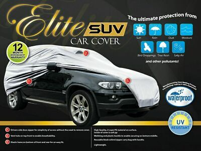 Universal Full-size Car Cover SUV Water Proof UV Protection Fits Upto 5.08m NEW