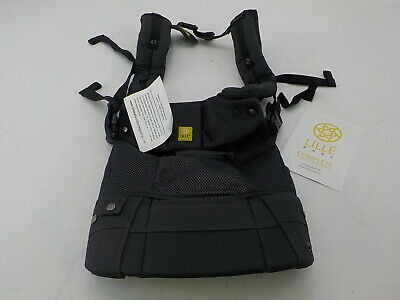 LILLEbaby SC-4A-406 - Airflow SIX-Position Ergonomic Baby Carrier, Charcoal