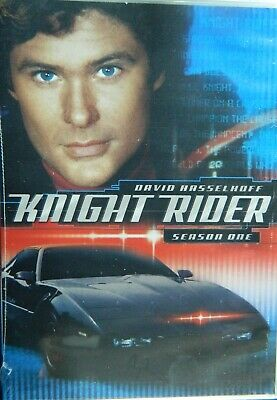 KNIGHT RIDER The COMPLETE FIRST SEASON 22 Episodes + Bonus Features 6Disc SEALED