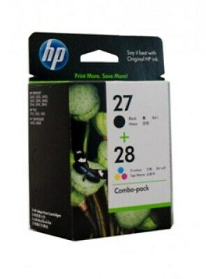 HP 27 28 Combo Ink Cartridges NEW GENUINE