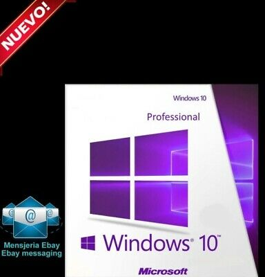 Instant Win 10 Professional Pro 32 & 64 Bit Activation Code License Key